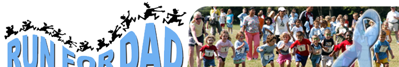 Run For Dad 2009 Banner Top