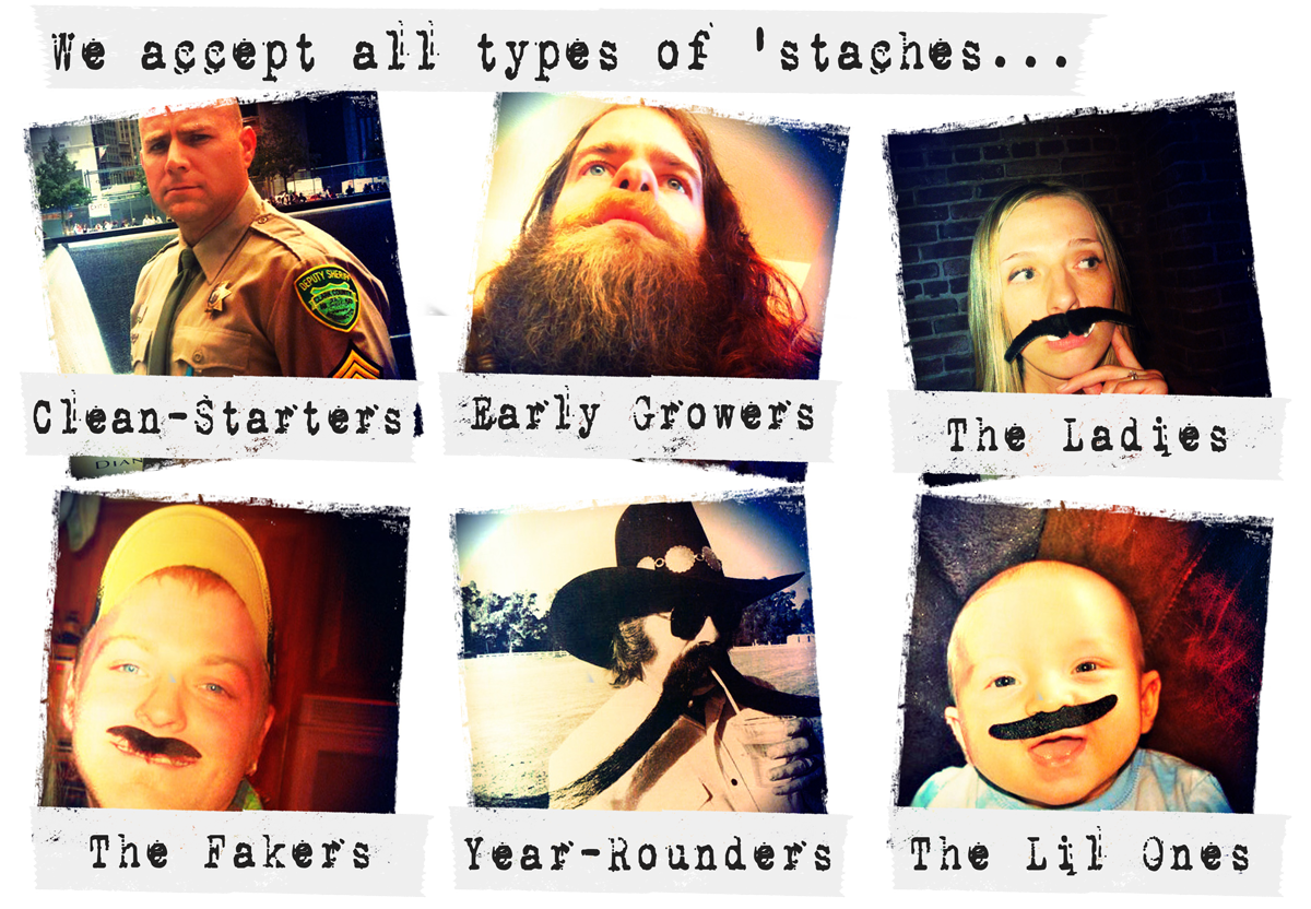 Types of Staches